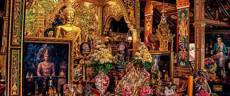 Inside Wat Ming Muang