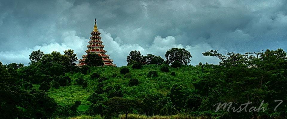 Wat Huay Plakang - 9 tier temple