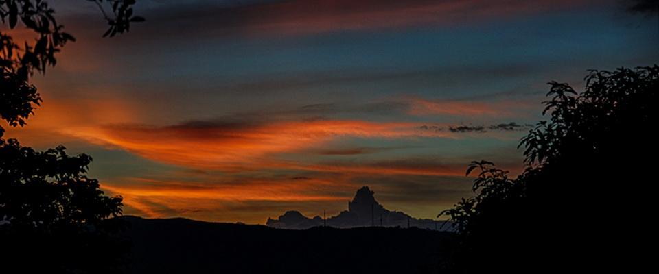 Sunset over Chiang Rai