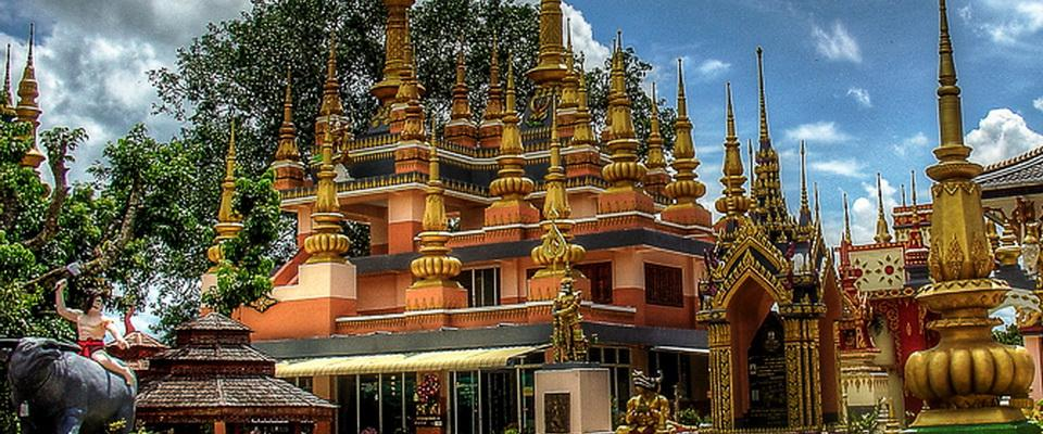 Wat Sai Khao - special temple south of Chiang Rai