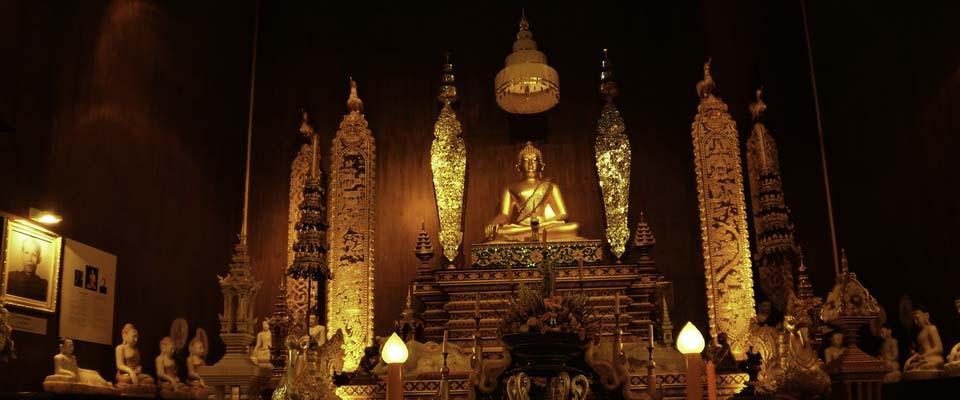 Inside Museum at Wat Phra Kaeow