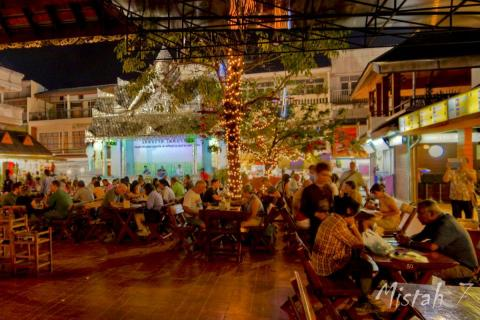 Night Bazaar in Chiang Rai